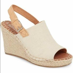 Toms Slingback Wedge